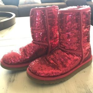 UGG Women's Classic Short Sequin Boot